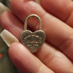 Tiffany & Co Silver Return to Tiffany Heart Charm
